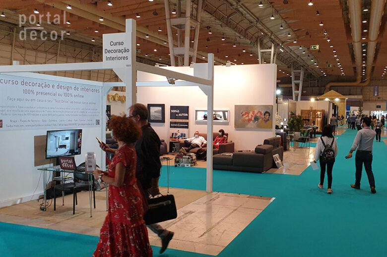 Stand Curso Decoração e Design de Interiores Online - Intercasa 2020